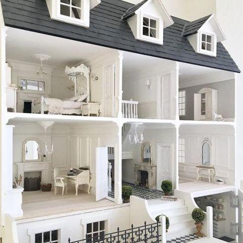 White Dollhouses!