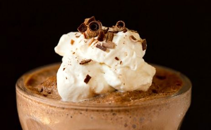 I found an amazingly delicious frozen hot chocolate recipe that you can make right at home! Keep reading to learn how to make it.