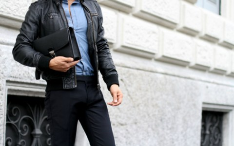 There are so many leather jackets for men! Slim fit, motorbike, or casual there are lots of ways to wear a leather jacket! We have all the top ideas!