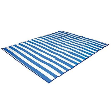 Believe it or not, beach mats are beauty essentials. They keep you clean and away from the sand!