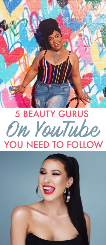 These are the top beauty gurus on youtube that you need to follow!