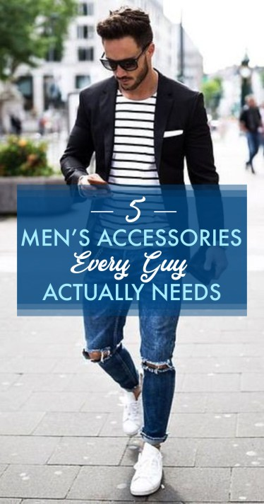 These are the men's accessories every guy needs in his life!