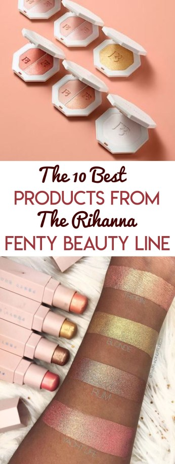 Here's a list of some of the best products from the Rihanna Fenty Beauty line!