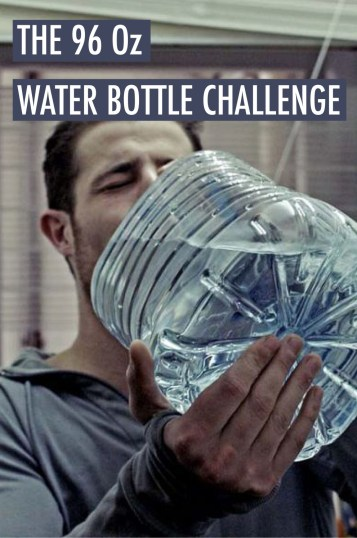 This may sound crazy, but the 96 oz water bottle challenge is good for you!