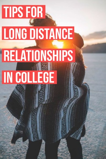 Here's some tips for long distance relationships in college!