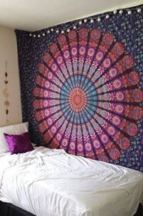 How To Hang A Tapestry In A Dorm Room So It Will Never Fall Down
