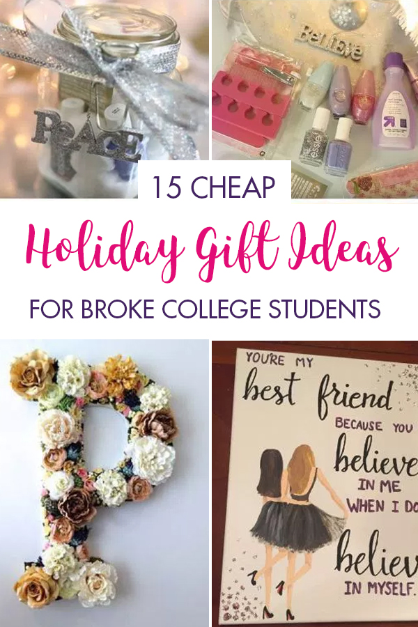 15 Cheap Holiday Gift Ideas For Broke College Students