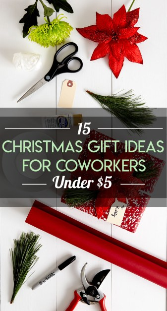 Here's all the Christmas gift ideas for coworkers under $5 you need to know!