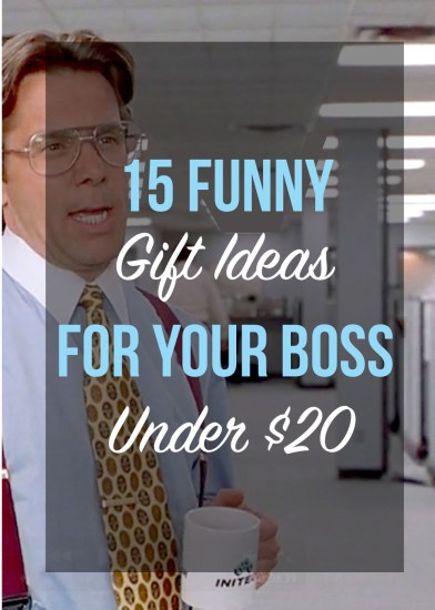 15 Funny Gift Ideas For Your Boss Under $20 - Society19