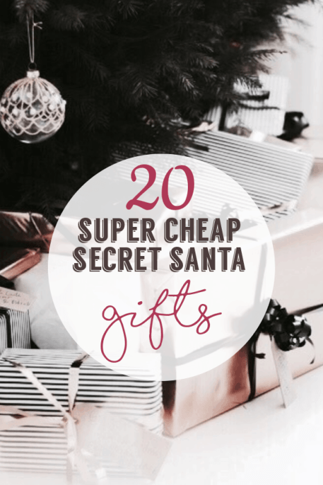 20 Cheap Secret Santa Gifts Under $10 Anyone Would Love
