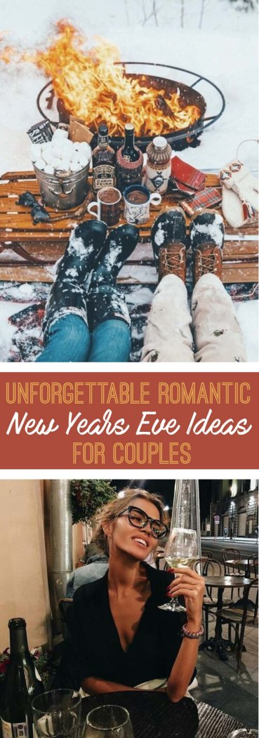 These are the best unforgettable romantic new years eve ideas for couples!
