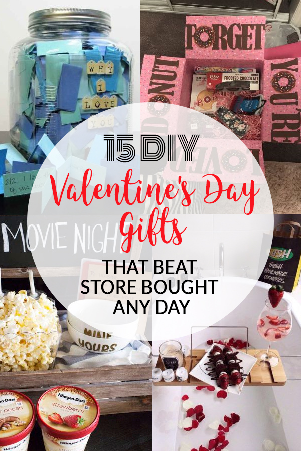 15 DIY Valentine's Day Gifts That Beat Store Bought Any Day
