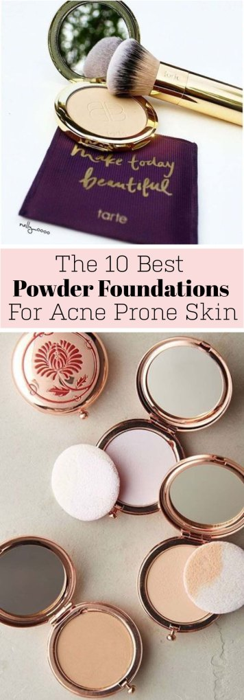 This is the best powder foundation for acne prone skin types!