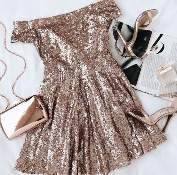 This is one of the cutest cheap new years eve dresses !