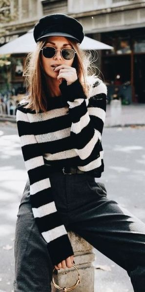 This is one of the cutest monochromatic outfits to wear!