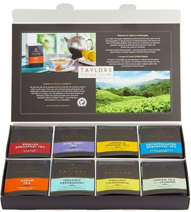 Tea samplers make good christmas gift ideas for your mother in law!