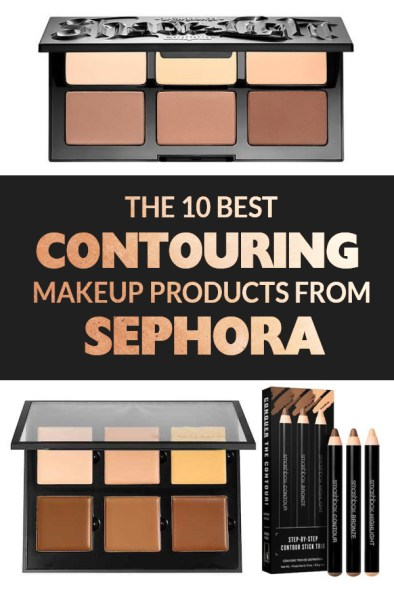 Here are the best contouring makeup products from Sephora. You're welcome!