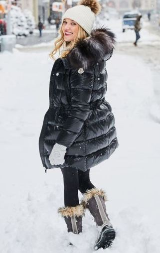 These are cute puffer coat outfits!