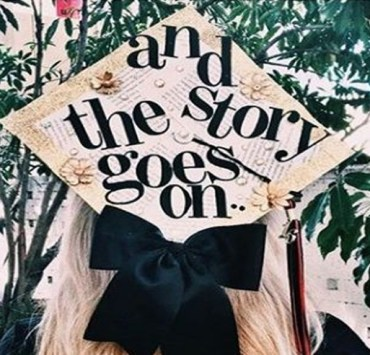 Need graduation cap ideas? We've got you covered. HEre are the best PSU graduation cap ideas that can be used for any graduation hat decor. These DIY graduation cap ideas are fantastic.