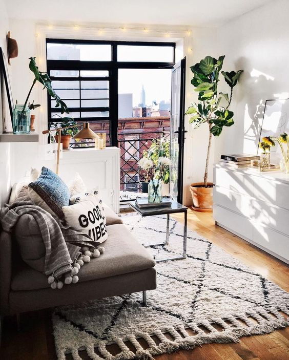 20 Cute Living Room Ideas For Your First Apartment
