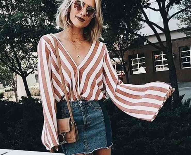 Spring and Summer are the perfect seasons for wearing bell sleeves. They're cute, trendy and versatile. For those of you don't know how to style bell sleeves. Here are 15 gorgeous summer outfit ideas with bell sleeves perfect for any occasion!