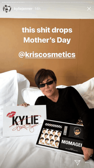 Kris Cosmetics is dropping on Mother's Day!
