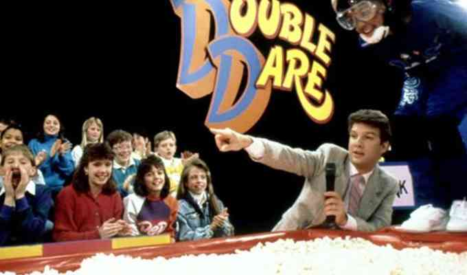 """""""Double Dare,"""" will be returning this summer after flirting with the concept of resurrection. The show does not have an air date set yet, but it will be on the air sometime this summer. We can't wait for the return of Nickelodeon's """"Double Dare!"""""""