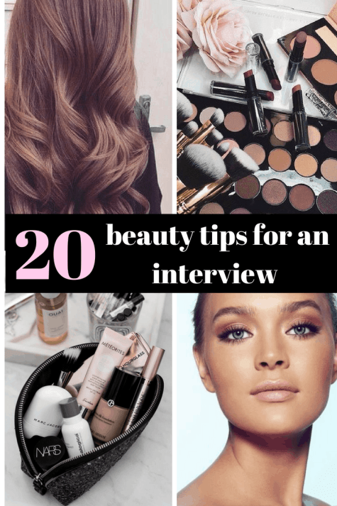 20 Important Hair And Makeup Tips For An Interview