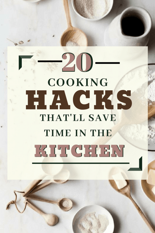 20 Cooking Hacks That'll Save You So Much Time In The Kitchen