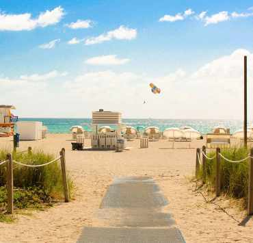 Everyone thinks they know the best beaches in Miami, but that's an impossible task for an out-of-towner to accomplish. No worries--here is the inside scoop!
