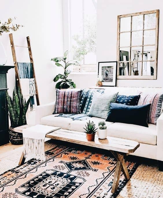 30 Bohemian Home Decor Ideas For A Boho Chic Space on Boho Modern Decor  id=34653
