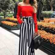 Take a look at this high waisted pants outfit that we love for any season!
