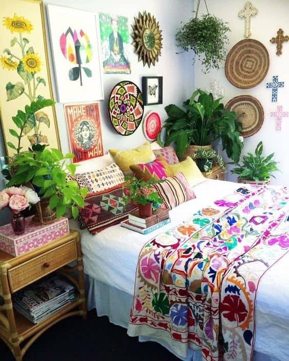 Take a peak at these beautiful Bohemian home decor looks!