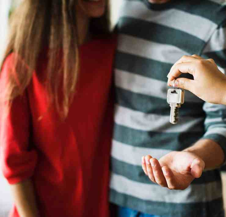 Getting a place together with someone you're in a relationship with is a huge step, so here are some tips on things you should consider first.