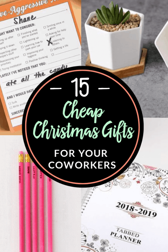 15 Cheap Christmas Gifts For Coworkers