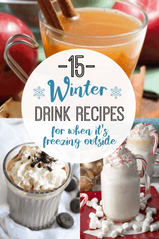 15 Winter Drink Recipes When It's Freezing Outside