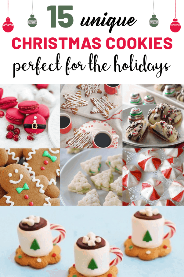 15 Unique Christmas Cookie Recipes Perfect For The Holidays