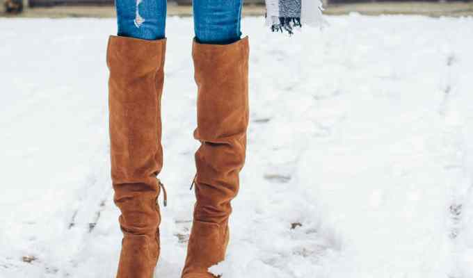 These winter boots are the perfect look for anyone who wants to be fashionable and keep their feet warm when the weather gets cold!
