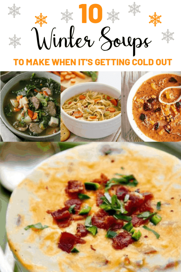 10 Winter Soups To Make When It's Freezing Out