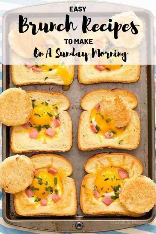 15 Easy Brunch Recipes To Make On Sunday Morning