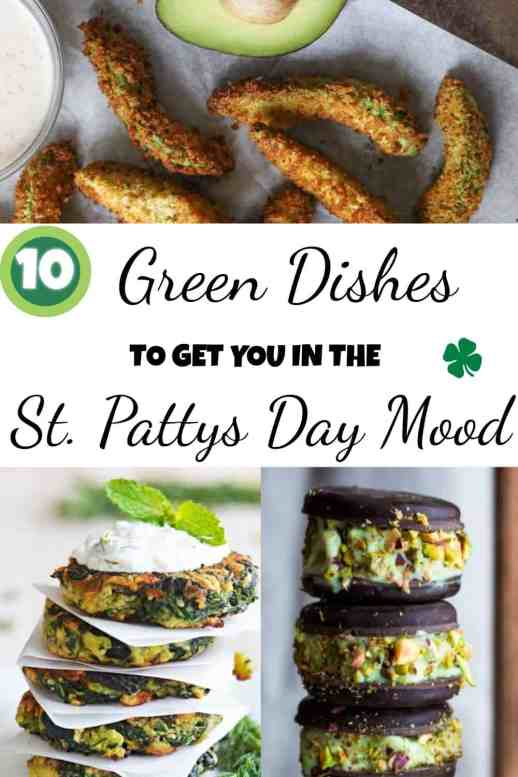 10 Green Dishes To Make To Get You In The St. Patty's Day Mood