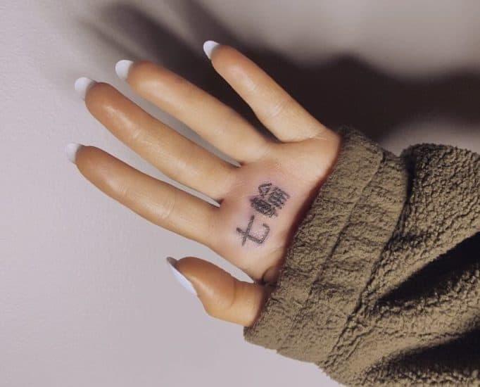 Ariana Grande Got Her Tattoo Misspelled - Twice!