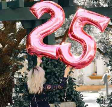 25 Ideas To Celebrate Your 25th Birthday