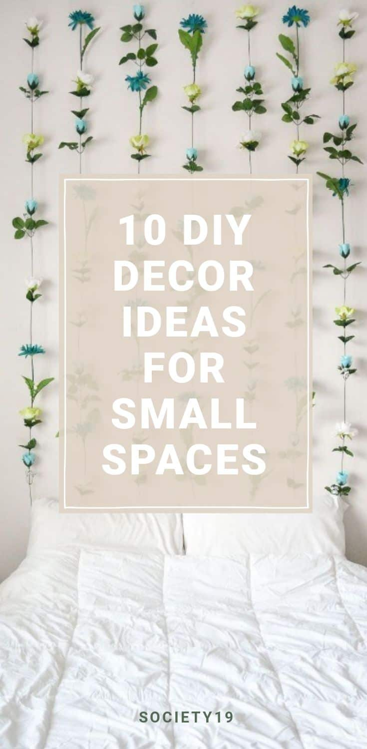 10 DIY Decor Ideas For Your Dorm Or Small Spaces