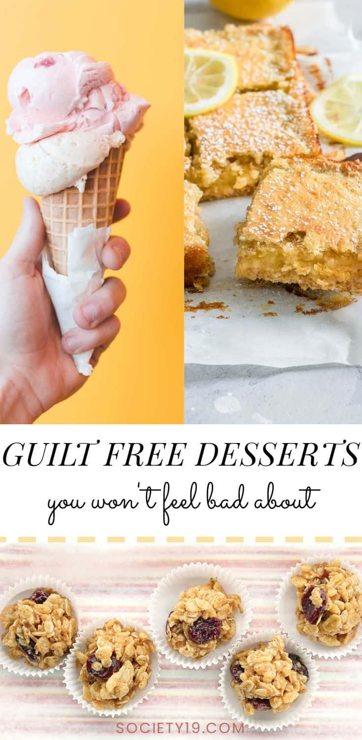 Desserts, 10 Desserts That You Won't Feel Guilty For Eating