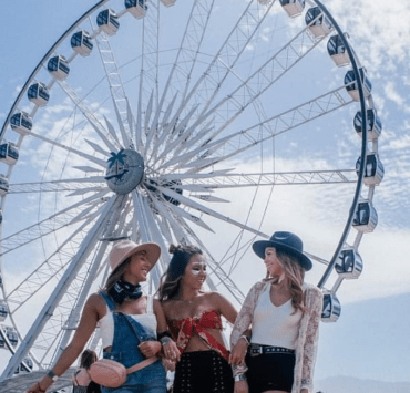 The Best Celebrity Looks At Coachella 2019