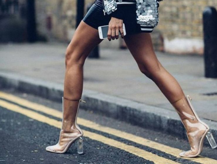 10 Ways You Can Wear The Transparent Heel Trend This Summer