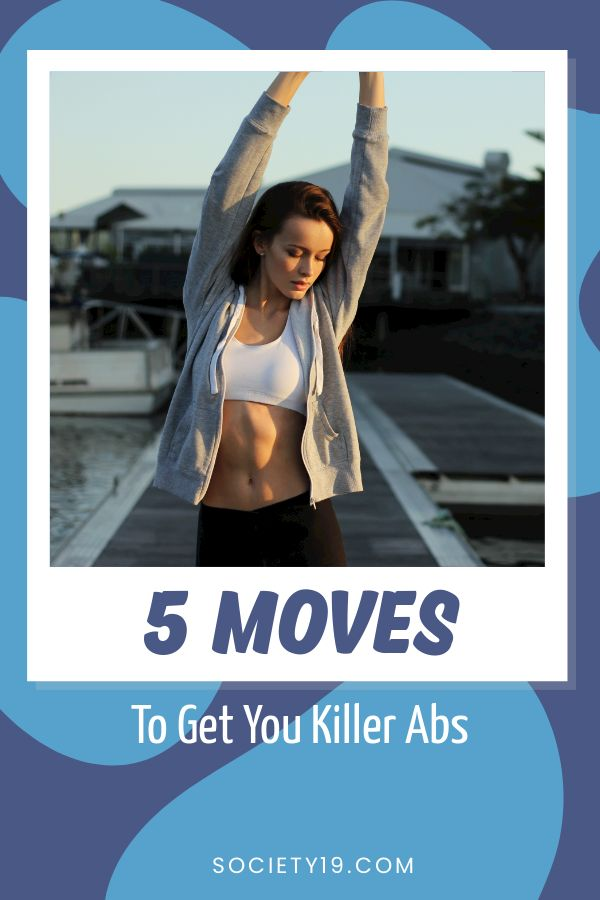 5 Moves To Get You Killer Abs