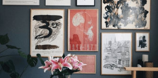 How To Style A Photo Wall For Your Dorm Room