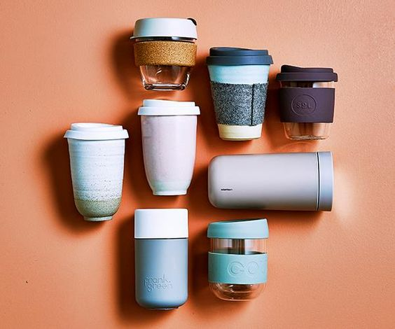 10 Amazing Re-Useable Coffee Cups